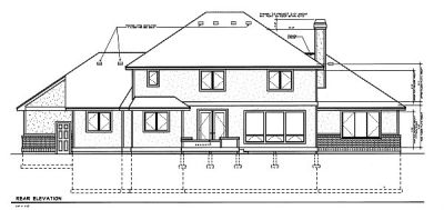 Rear Elevations Plan:1-186