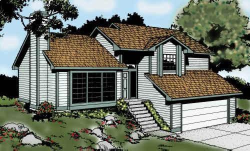 Northwest Style Floor Plans Plan: 1-193