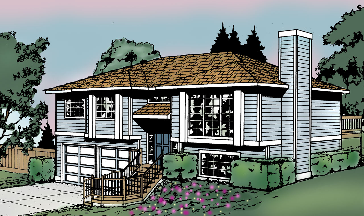 Northwest Style House Plans Plan: 1-195