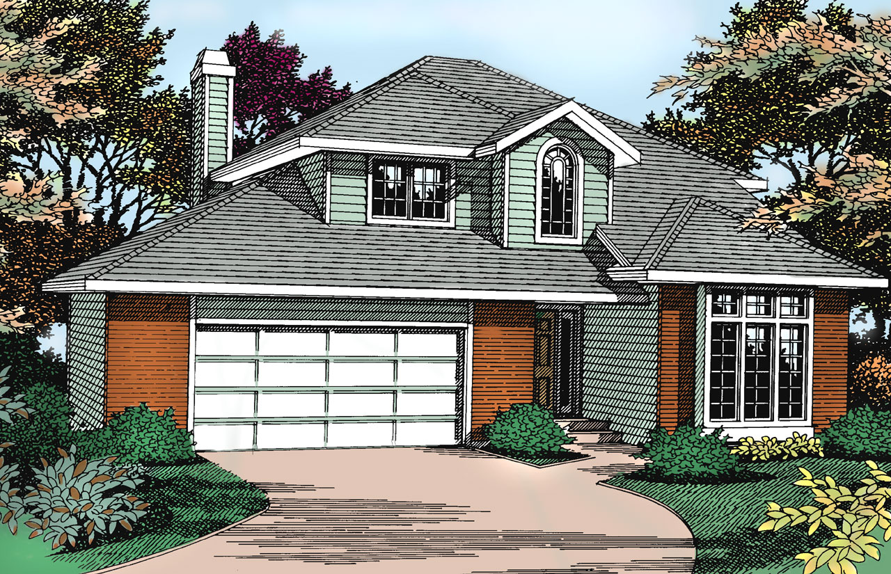 Northwest Style House Plans Plan: 1-207