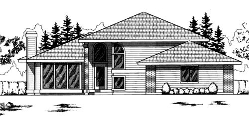 Traditional Style House Plans Plan: 1-210