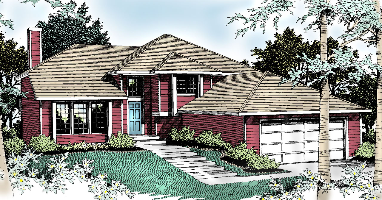 Traditional Style Floor Plans Plan: 1-211