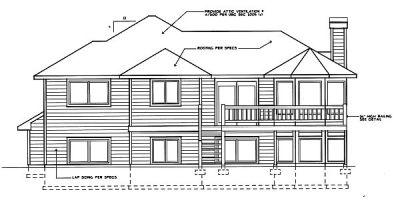Rear Elevations Plan:1-211