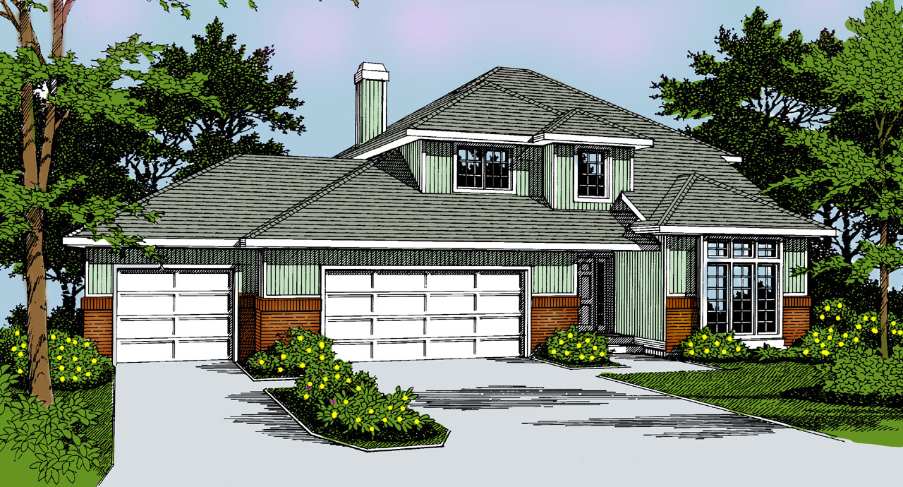Northwest Style House Plans Plan: 1-219