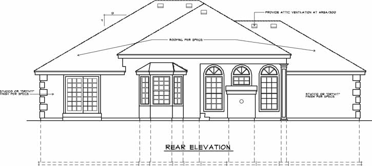 Rear Elevations Plan:1-220