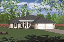 Mediterranean Style House Plans Plan: 1-220