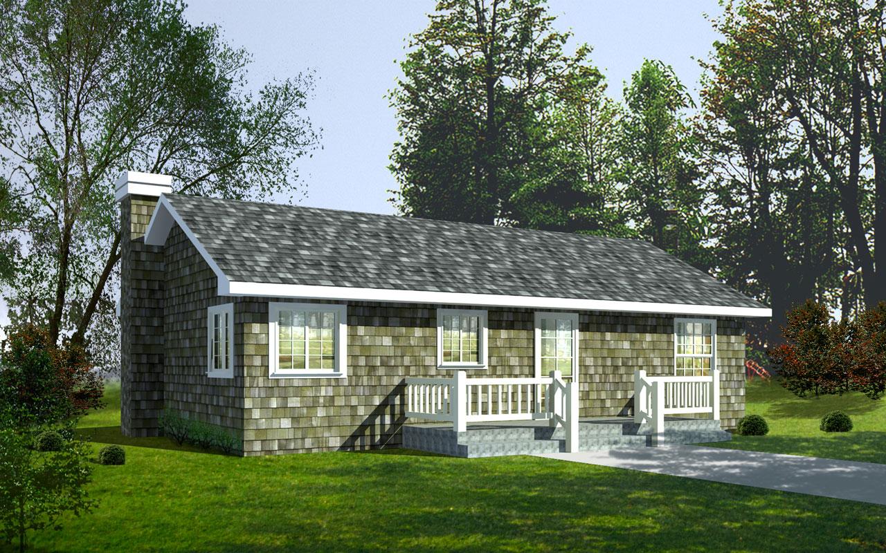 Shingle Style House Plans Plan: 1-221