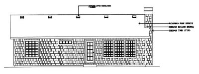 Rear Elevation Plan: 1-221