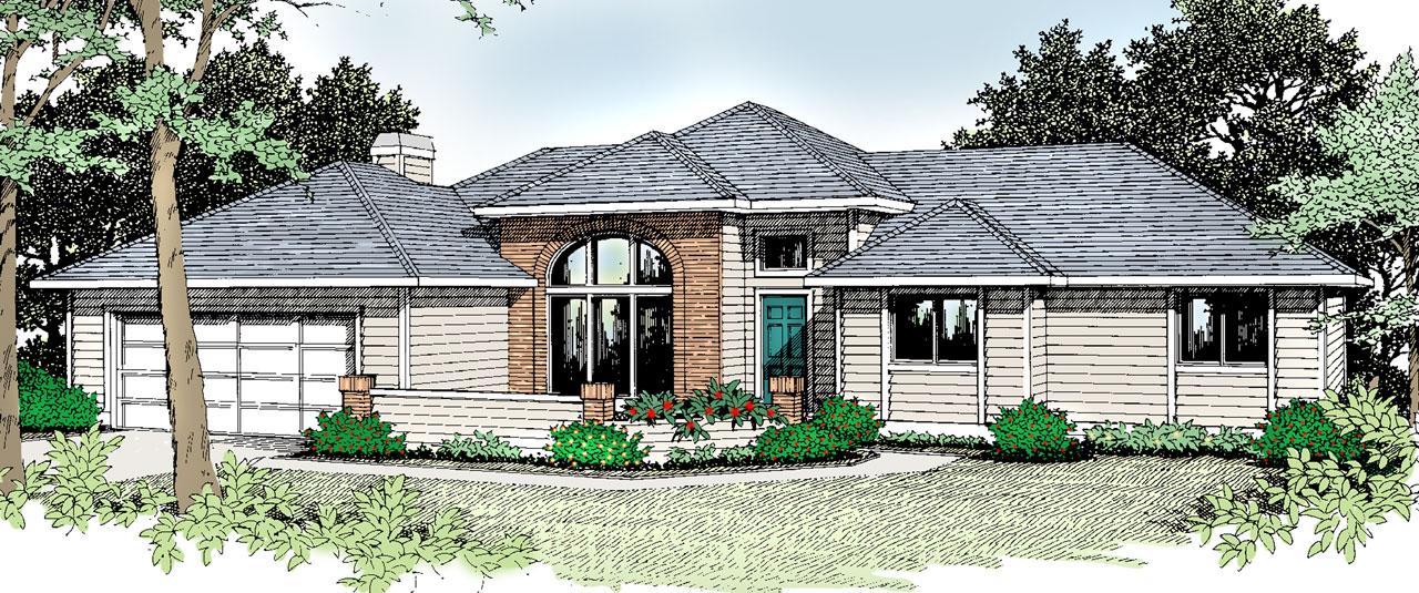Northwest Style Floor Plans Plan: 1-226