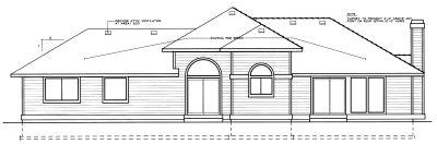 Rear Elevation Plan: 1-226