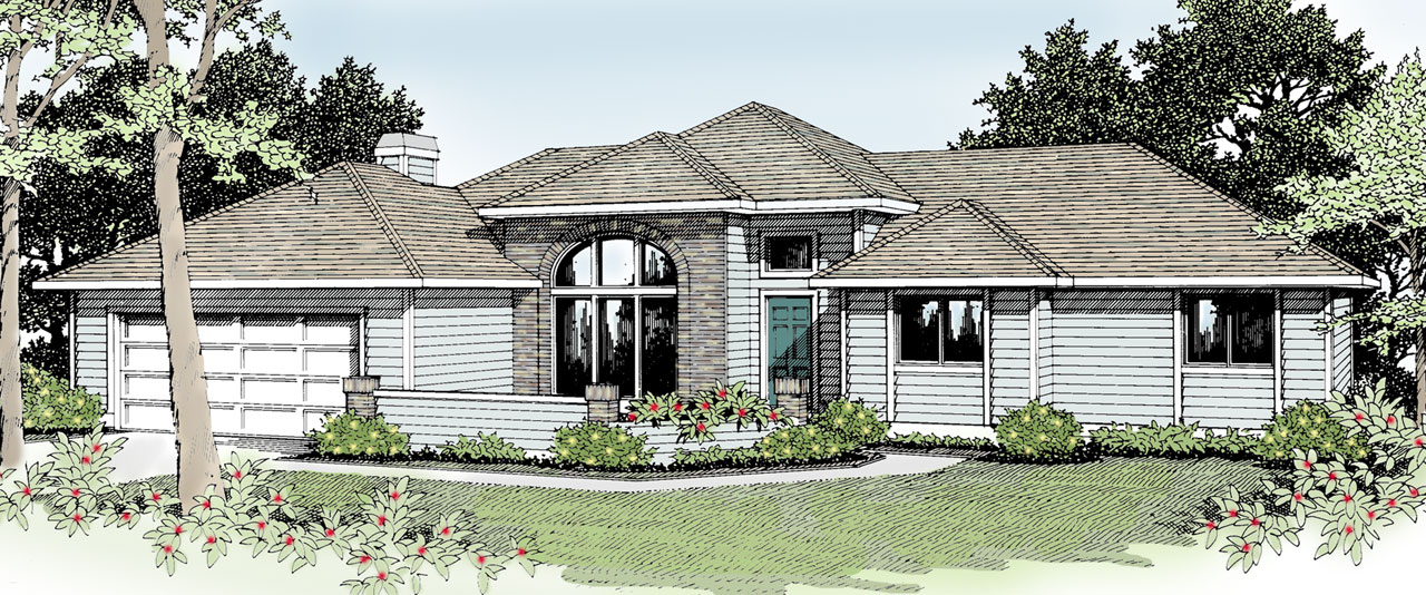Traditional Style Floor Plans Plan: 1-228