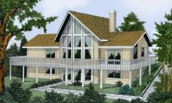 Contemporary Style House Plans 1-234