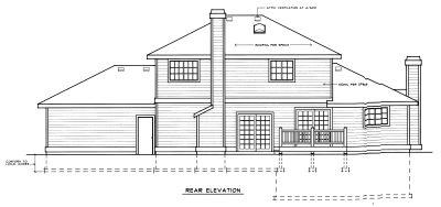 Rear Elevations Plan:1-237
