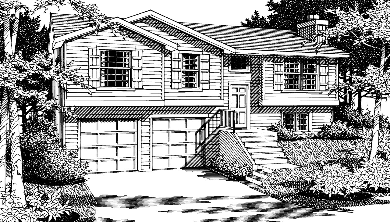 Traditional Style House Plans Plan: 1-241