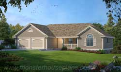 Ranch Style House Plans Plan: 1-246