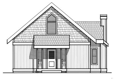 Rear Elevation Plan: 1-247