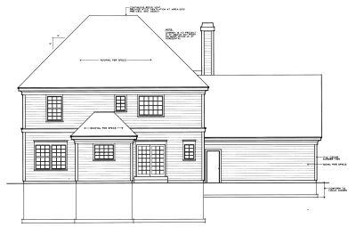 Rear Elevation Plan: 1-249