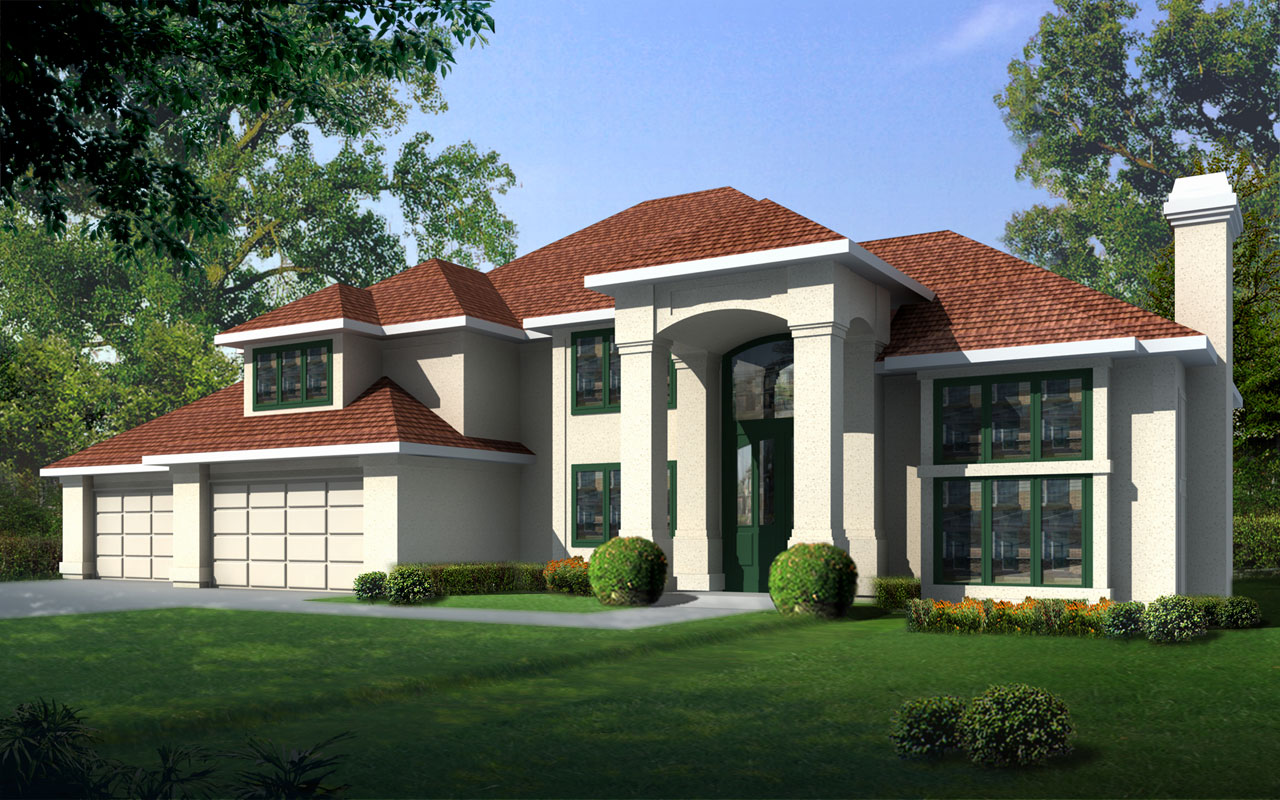European Style Floor Plans Plan: 1-252