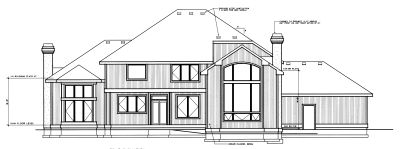 Rear Elevation Plan: 1-252