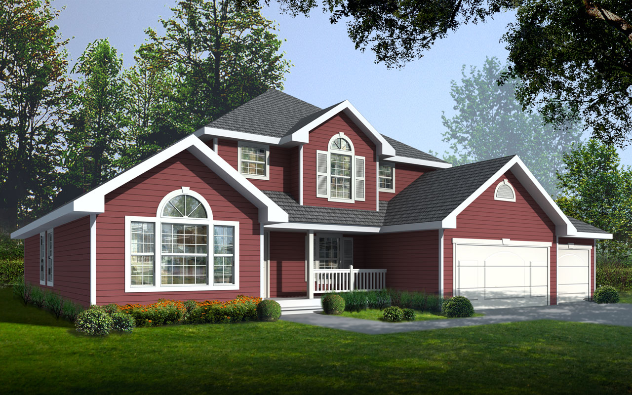 Traditional Style House Plans Plan: 1-253