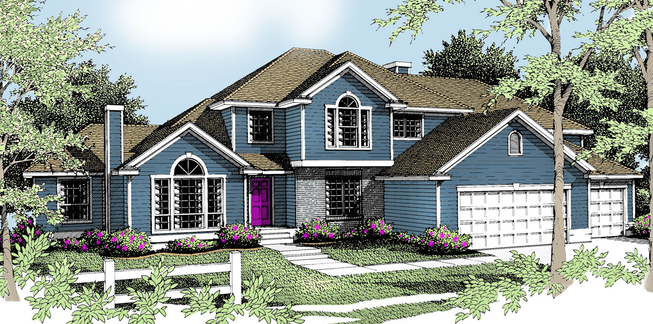 Traditional Style House Plans Plan: 1-257
