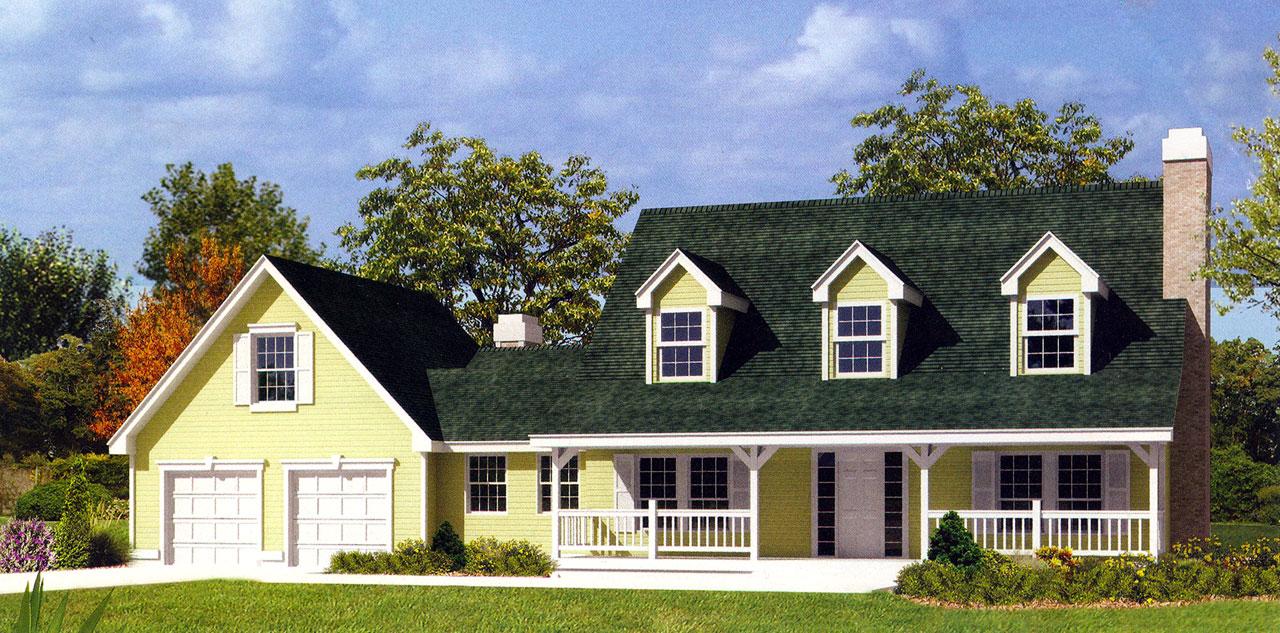 Farm Style House Plans Plan: 1-260