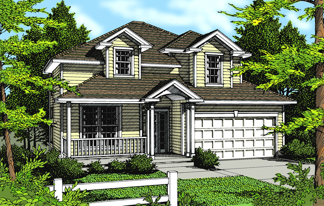 Traditional Style Floor Plans Plan: 1-263