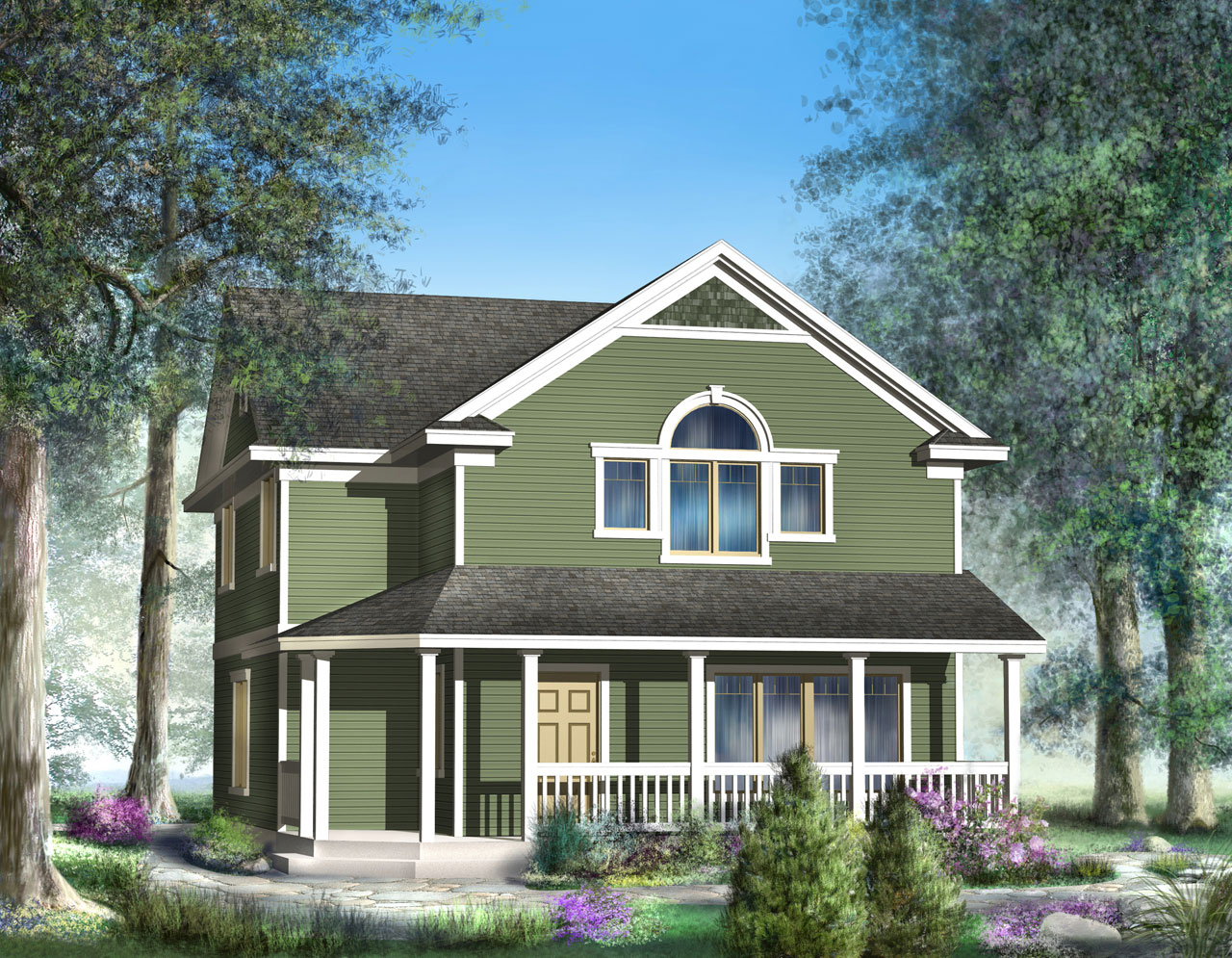 Craftsman Style House Plans Plan: 1-279