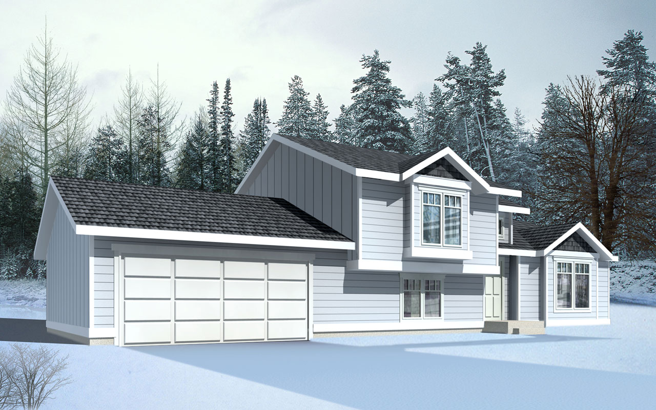 Northwest Style House Plans Plan: 1-281