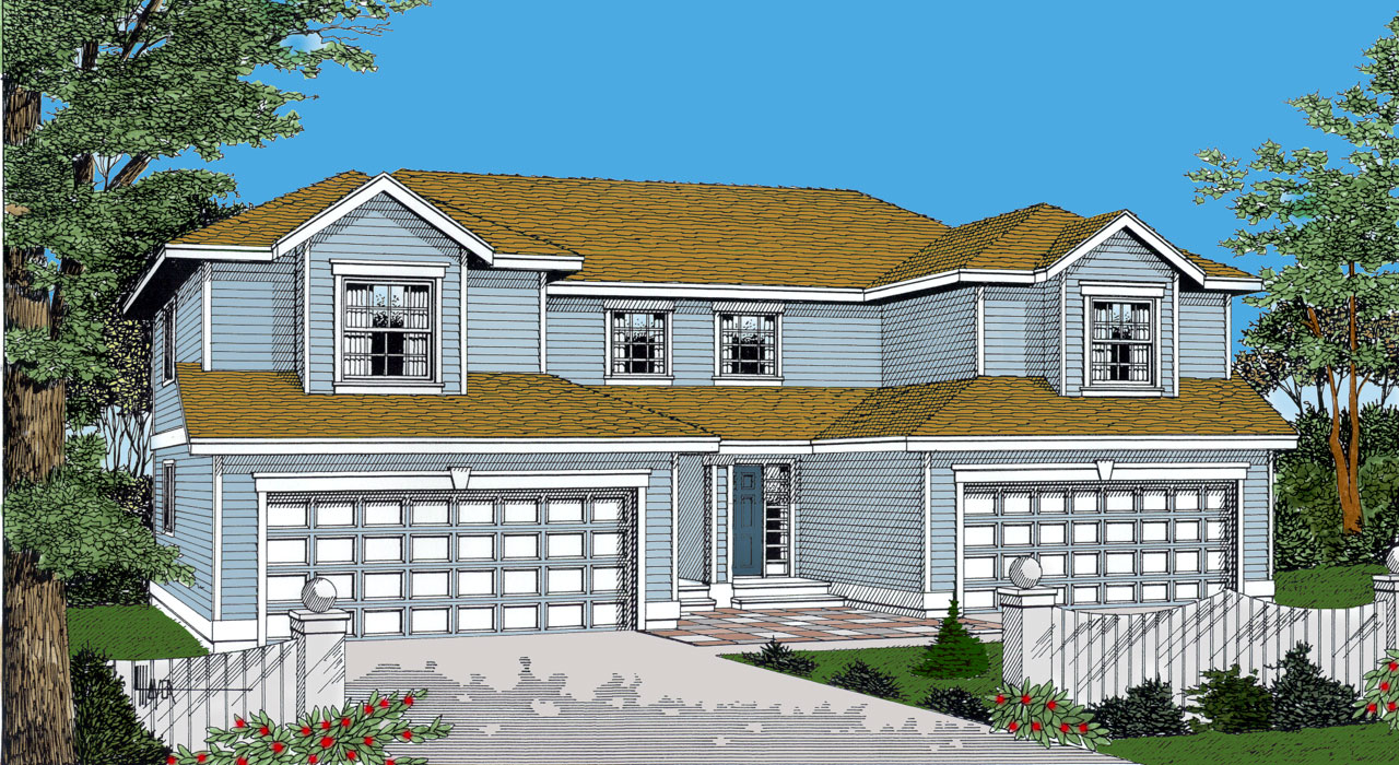 Traditional Style House Plans Plan: 1-283
