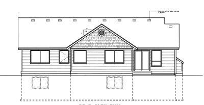 Rear Elevation Plan: 1-291