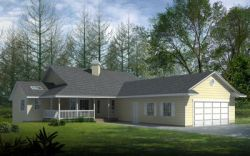 Ranch Style Floor Plans Plan: 1-292
