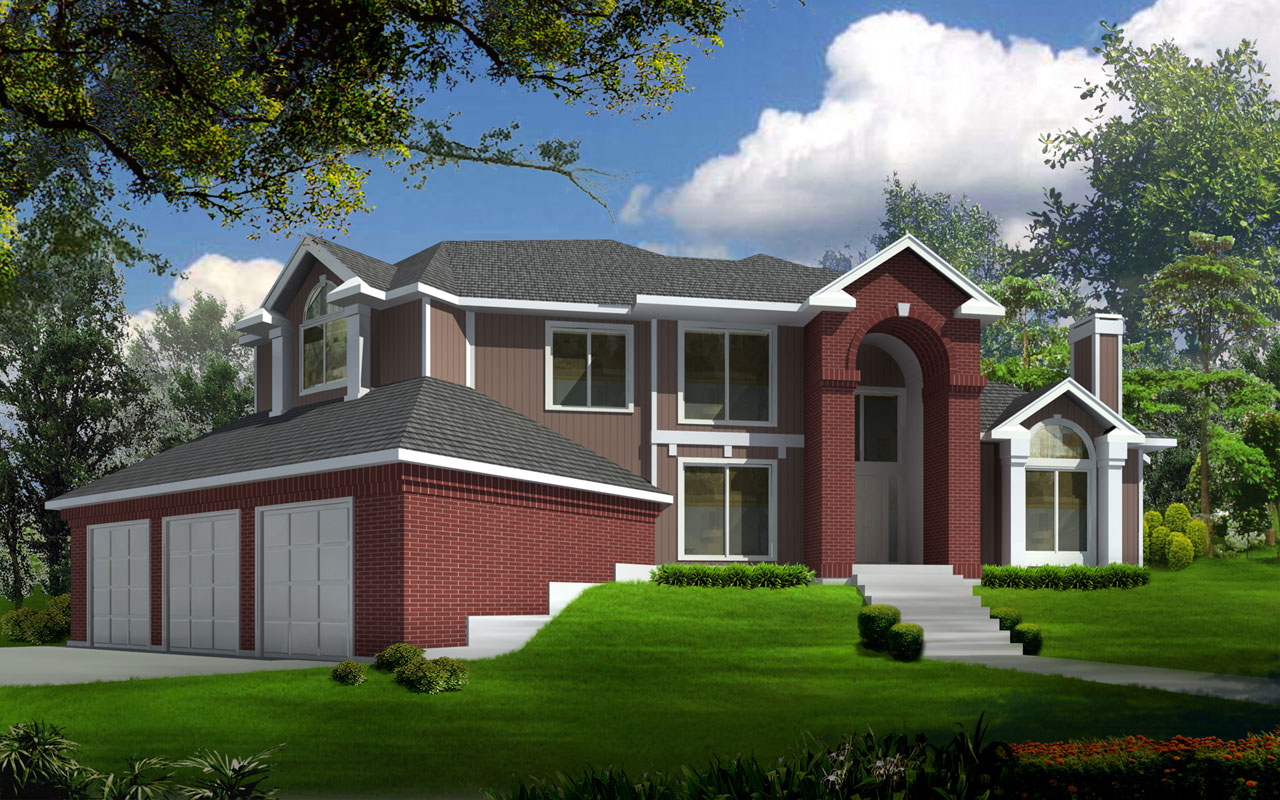 Traditional Style House Plans Plan: 1-294