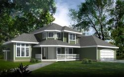 Country Style Floor Plans 1-295