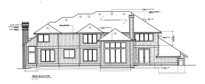Rear Elevation Plan: 1-297