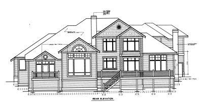 Rear Elevation Plan: 1-298