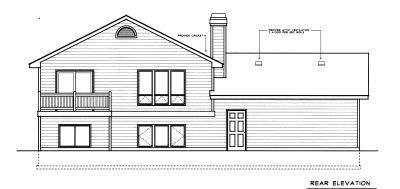 Rear Elevations Plan:1-307