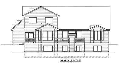 Rear Elevation Plan: 1-312