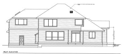 Rear Elevation Plan: 1-317