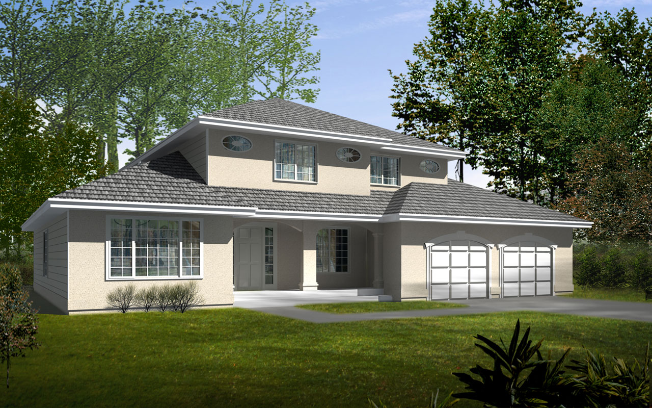 Traditional Style House Plans Plan: 1-326