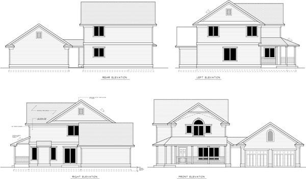 Rear Elevation Plan: 1-333