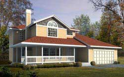 Bungalow Style House Plans 1-341