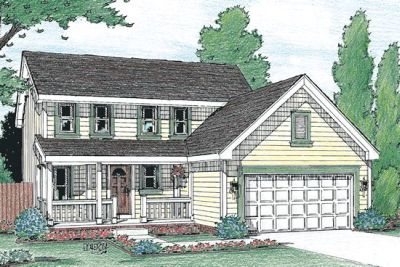 Country Style House Plans Plan: 10-1000