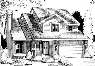 Traditional Style House Plans Plan: 10-1001