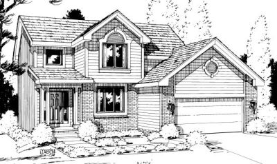 Traditional Style House Plans Plan: 10-1002