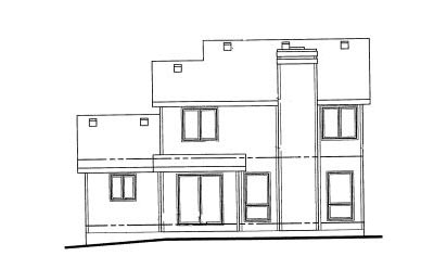 Rear Elevation Plan: 10-1003