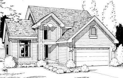 Traditional Style House Plans Plan: 10-1005