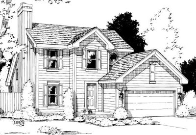 Traditional Style House Plans Plan: 10-1007