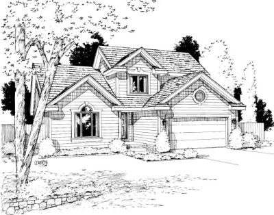Traditional Style Floor Plans Plan: 10-1011