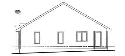 Rear Elevation Plan: 10-1014